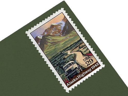 29¢ Alaska Highway - 25 Stamps
