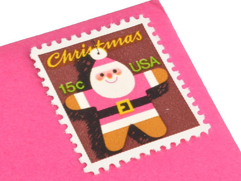 15¢ Santa Claus Gingerbread Ornament - 25 Stamps