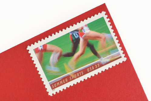 33¢ Summer Sports Running - 20 Stamps