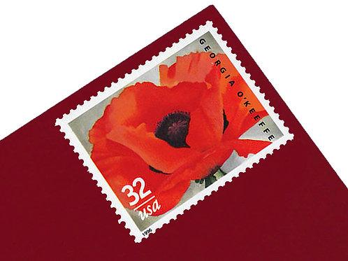 32¢ Georgia O'Keeffe - 15 Stamps