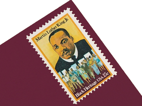 15¢ Martin Luther King Stamps - 25 Stamps