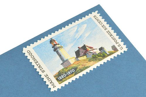 6¢ Maine Statehood - 25 Stamps