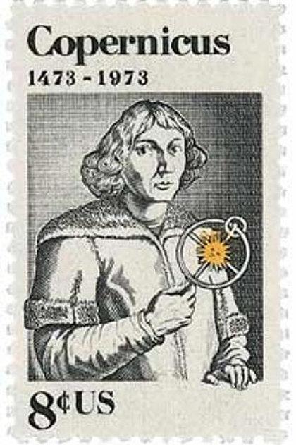 Pack of 25 Unused Copernicus Stamps - 8c - Vintage 1973 - Unused Postage