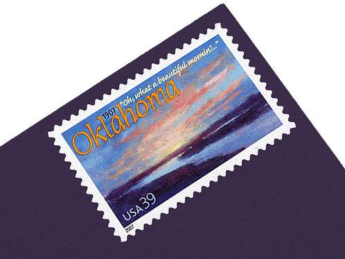 39¢ Oklahoma Statehood - 20 Stamps