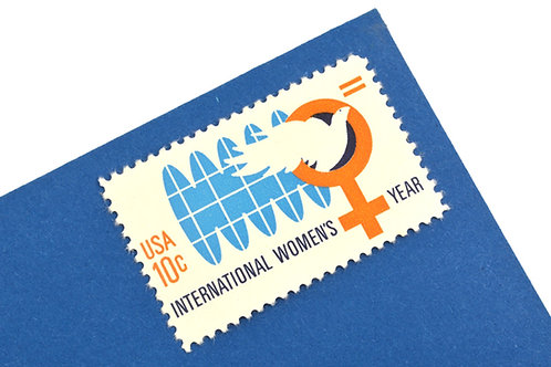 10¢ International Women's Year - 25 Stamps