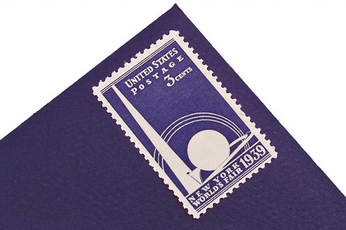 3¢ New York World's Fair 1939 - 25 Stamps