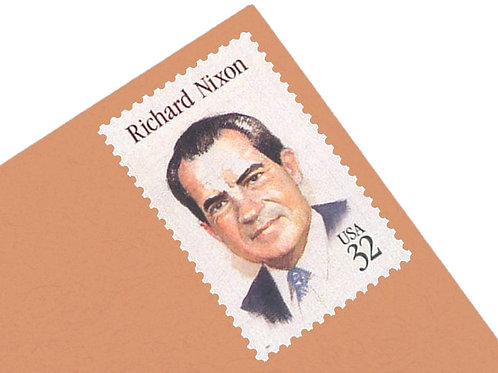 32¢ Richard Nixton Stamps - 25 Stamps