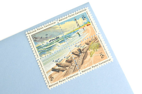 2¢ Beach - 24 Stamps