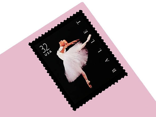 Pack of 20 Unused Ballet Stamps - 32c - 1998 - Unused Vintage Postage