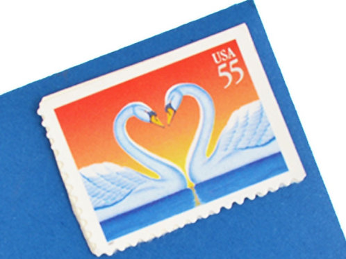 55¢ Love Swans - 20 Stamps