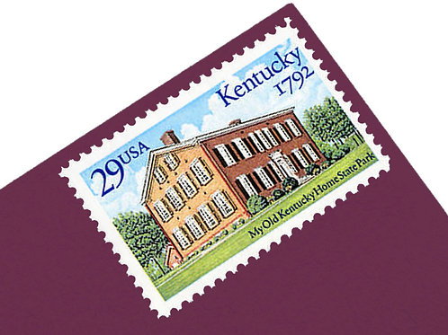 29¢ Kentucky Statehood - 25 Stamps