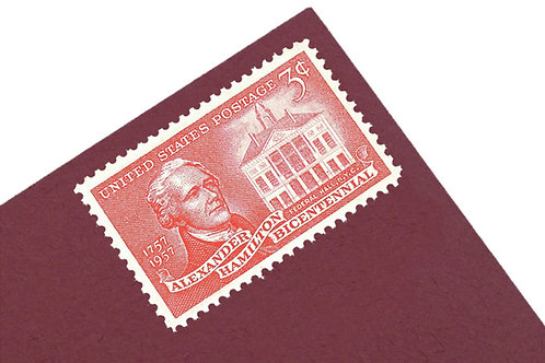 3¢ Alexander Hamilton - 25 Stamps