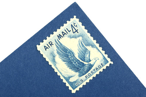 4¢ Air Mail Eagle - 25 Stamps