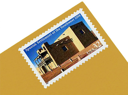 32¢ Spanish Settlement of the Southwest  - 20 Stamps
