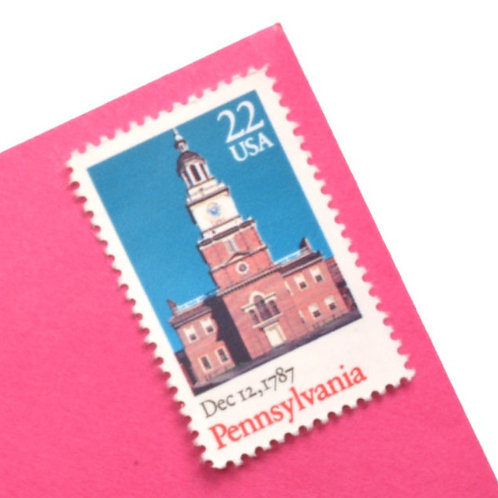 22¢ Pennsylvania Statehood - 25 Stamps