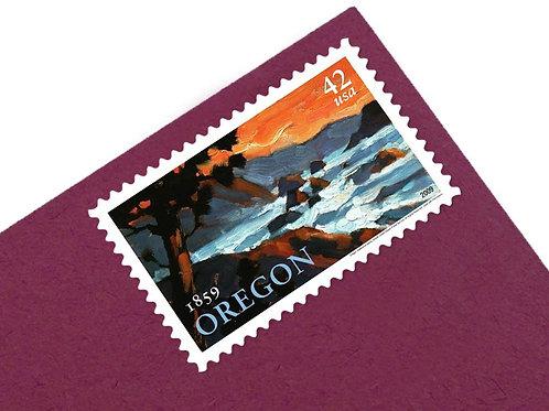 42¢ Oregon Statehood - 20 Stamps