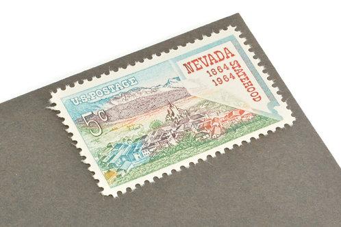 5¢ Nevada Statehood - 25 Stamps