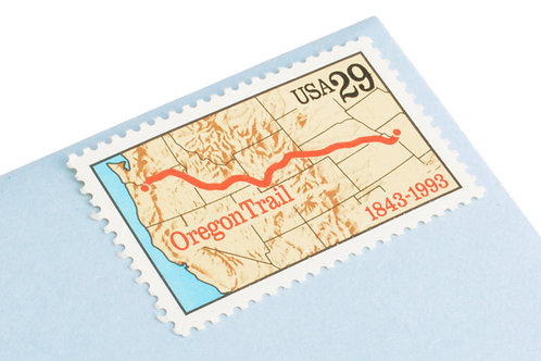 29¢ Oregon Trail - 25 Stamps