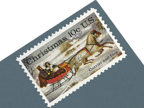 10¢ The Winter Road Christmas - 25 Stamps