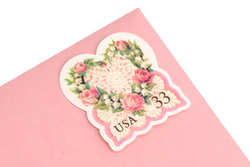 33¢ Victorian Heart Love - 20 Stamps