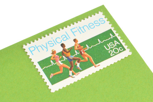 20¢ Physical Fitness - 25 Stamps