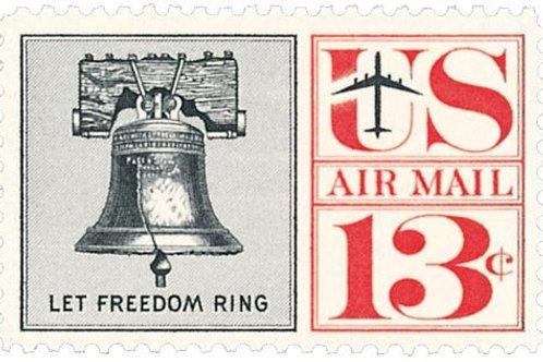 Pack of 25 Unused Liberty Bell - 13c - 1961 - Unused Vintage Postage