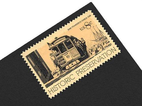 8¢ Historic Preservation Stamps - 24 Stamps