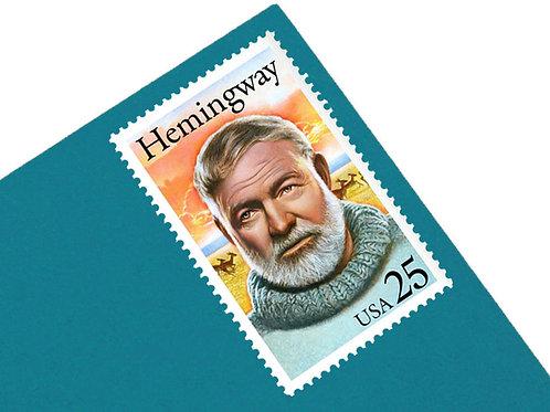 25¢ Ernest Hemingway - 25 Stamps