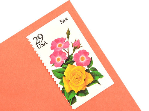 29¢ Summer Garden Flowers - 20 Stamps
