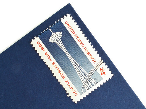 4¢ Seattle World's Fair - 25 Stamps