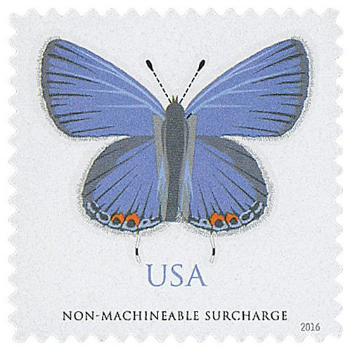 Pack of 20 Unused Eastern Tailed-Blue Butterfly Stamps - 70c - 2016 - Unused