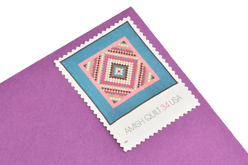 34¢ Amish Quilt - 20 Stamps