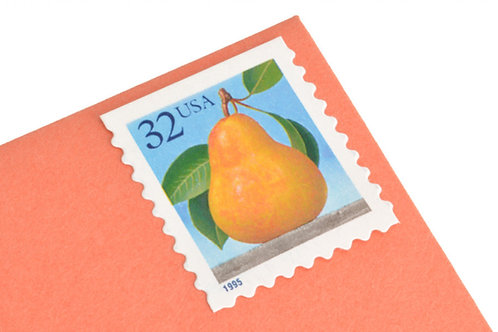 32¢ Peach & Pear - 20 Stamps
