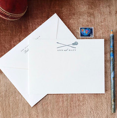 Note cards & photo by @tennhensdesign