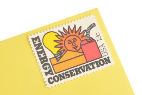 13¢ Energy Conservation - 25 Stamps