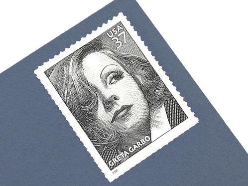 37¢ Greta Garbo- 20 Stamps