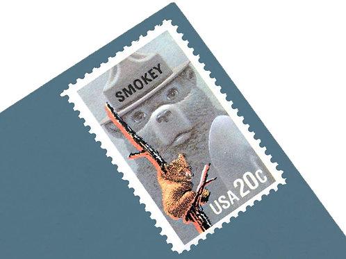 20¢ Smokey the Bear - 25 Stamps