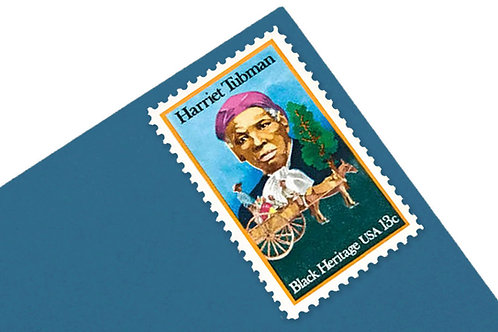 13¢ Harriet Tubman Stamps - 25 Stamps