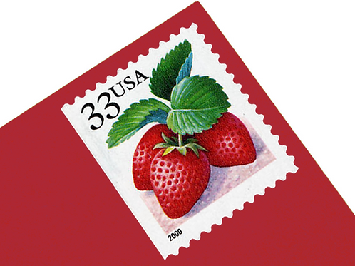 33¢ Berries - 20 Stamps