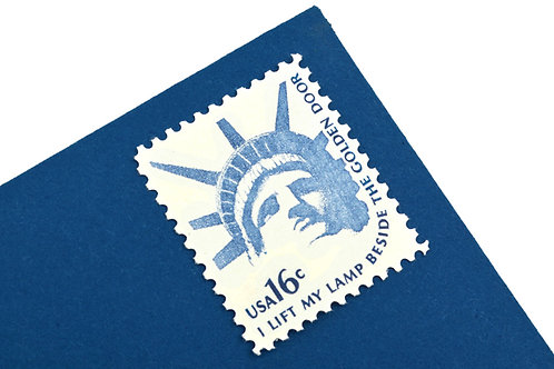 16¢ Statue of Liberty - 25 Stamps