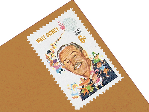 6¢ Walt Disney - 25 Stamps