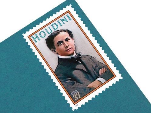 37¢ Houdini- 20 Stamps