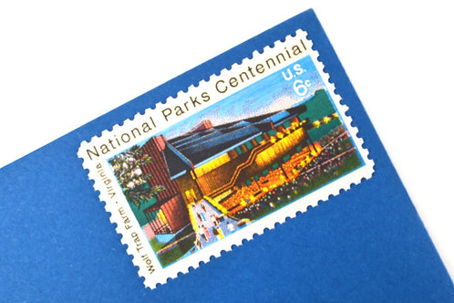 6¢ Virginia Wolf Trap Farm/National Parks - 25 Stamps