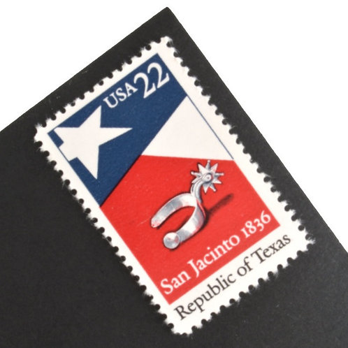 22¢ Texas - 25 Stamps
