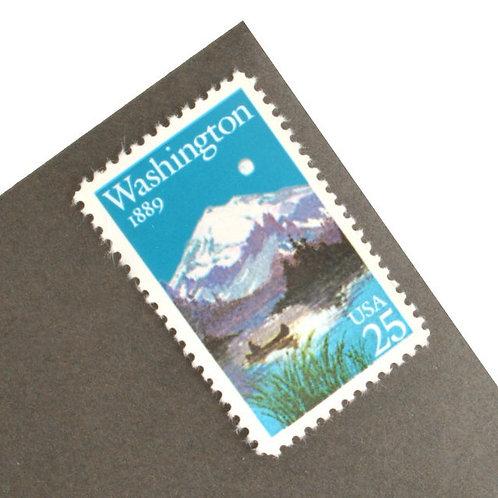 25¢ Washington Statehood - 25 Stamps