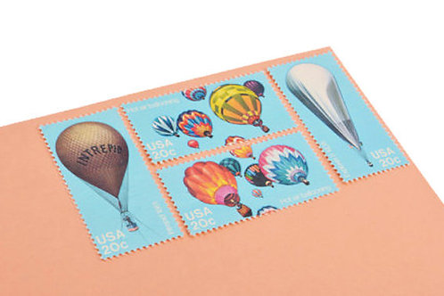 20¢ Hot Air Balloon - 24 Stamps