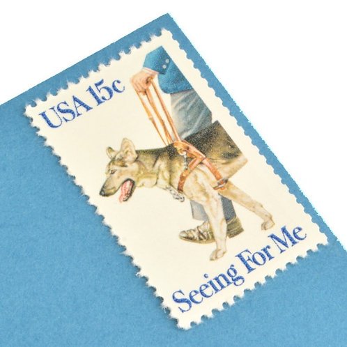 15¢ Seeing Eye Dog - 25 Stamps