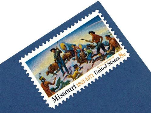 8¢ Missouri - 25 Stamps