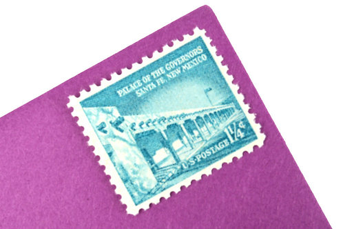 1 1/4¢ New Mexico Palace of the Governors - 25 Stamps