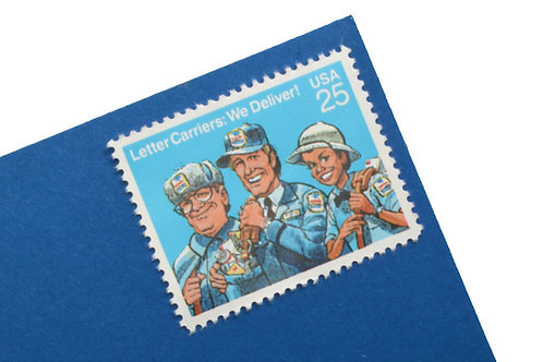 25¢ Letter Carriers: We Deliver! - 25 Stamps